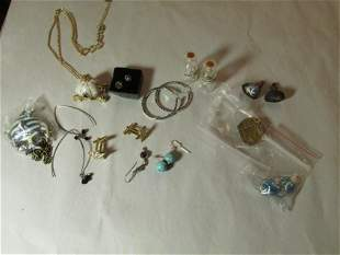 Large group lot of better jewelry including sterling
