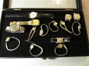 Large lot of nice Vintage Watches