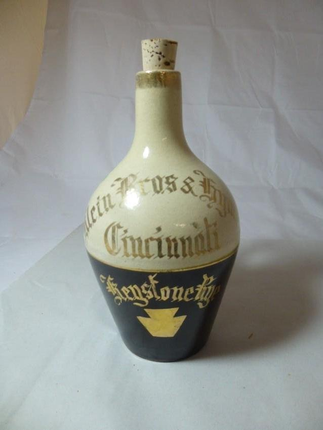 Stoneware Klein Bros. Cincinnati Rye Jug - 2