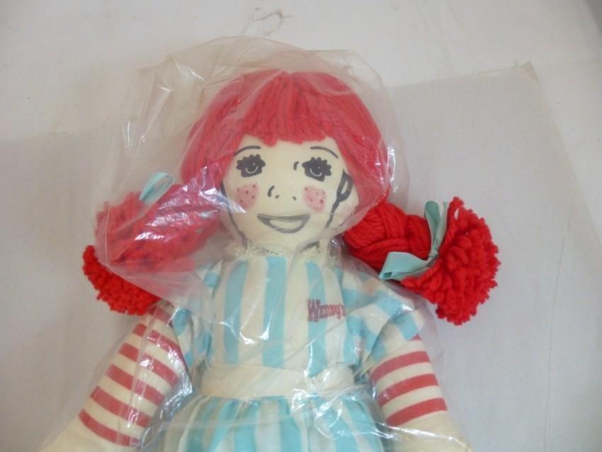 Vintage Wendy's Restaurant Doll