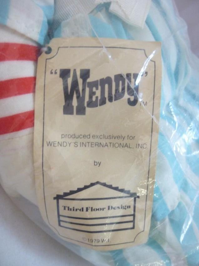 Vintage Wendy's Restaurant Doll - 3
