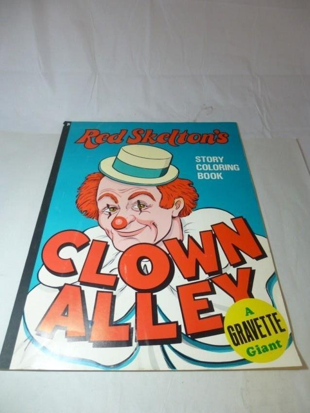 Coloring book yves saint laurent - Red Skelton Clown Alley Coloring Book
