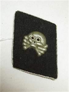 Nazi German Totenkopf SS Epaulette