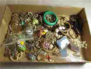 Very large group lot of vintage jewelry