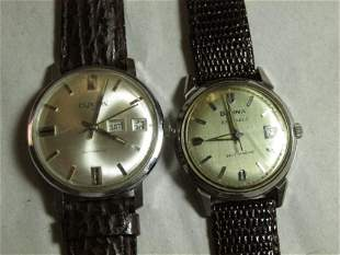 Two Vintage Men's Mechanical Watches