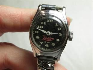 Vintage Mechanical Zorro Kid's Watch