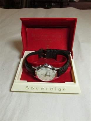 Vintage Men's Sovereign Watch - Running