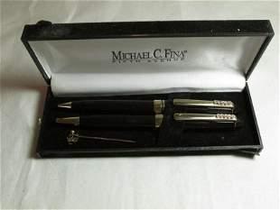 Vintage Michael c. Fina Pen and Pencil Set