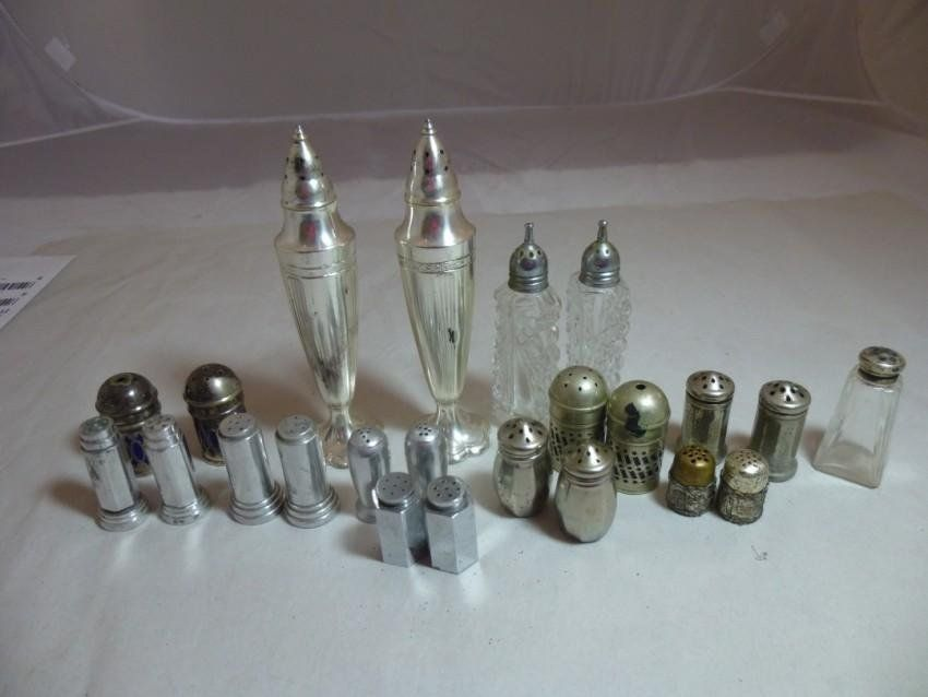 Very large lot of old Salt and Pepper Shakers