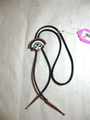 Vintage Bolo Tie Necklace