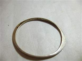Sterling Silver Modern Bracelet