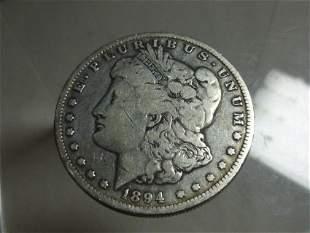 1894-O Morgan Dollar Silver Coin