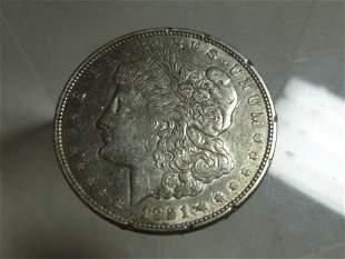 1921-D Morgan Dollar Silver Coin