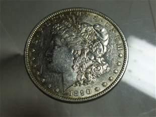 1890-S Morgan Dollar Silver Coin