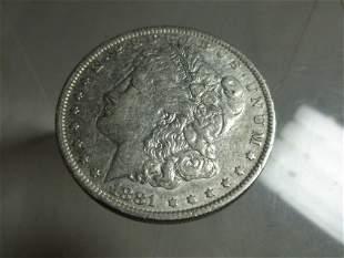 1881-O Morgan Dollar Silver Coin