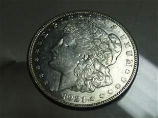1921-S Morgan Dollar Silver Coin