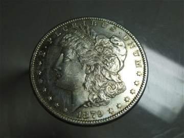 1879-S Morgan Dollar Silver Coin