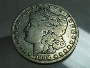 1888-O Morgan Dollar Silver Coin