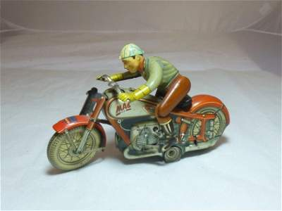 Mac Motorcycle Toy