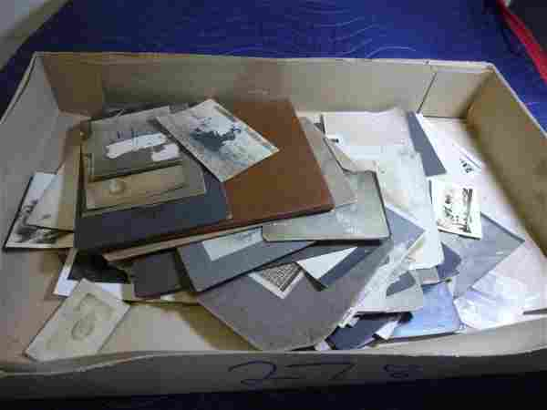 Large group lot of old photographs