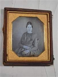 1/6 plate daguerreotype - 1840s - Young Girl