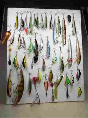Large Lot of Antique and Vintage Fishing Lures