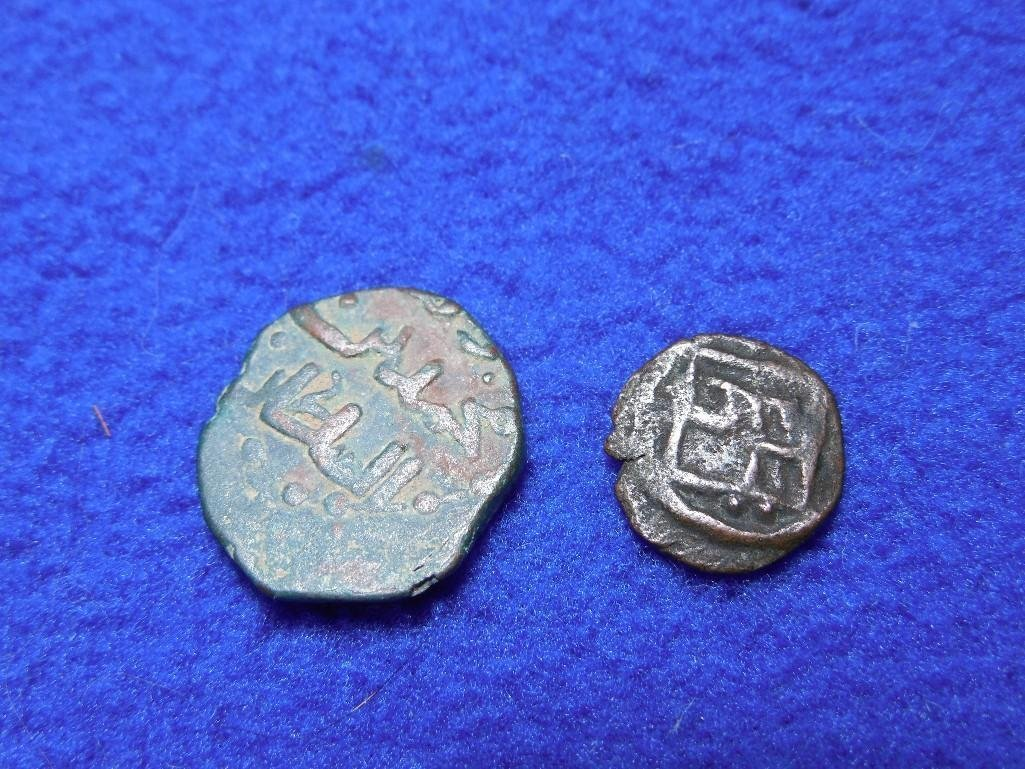 2 Nice Ancient Coins - Middle Eastern