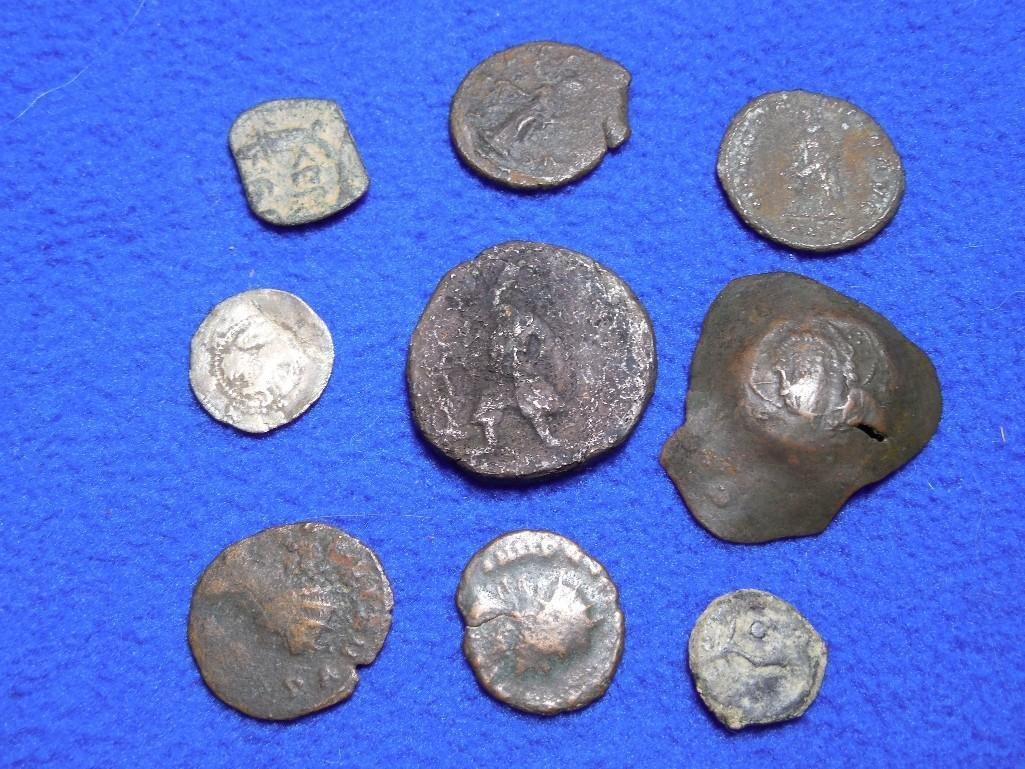 Large Lot Ancient Coins Various Types
