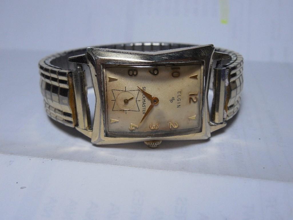 Elgin Shockmaster Men's Gold Filled Watch