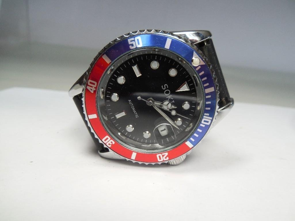 Vintage Like New Soki Men's Pepsi Dial Dive Watch - 2