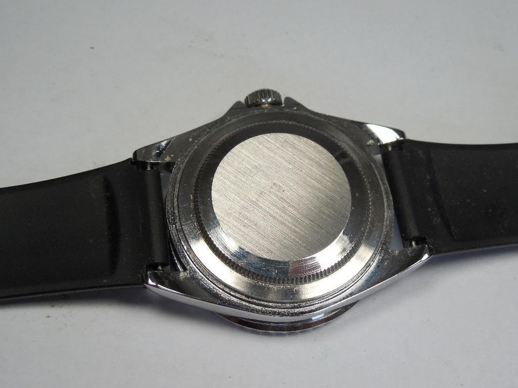 Vintage Like New Soki Men's Pepsi Dial Dive Watch - 4