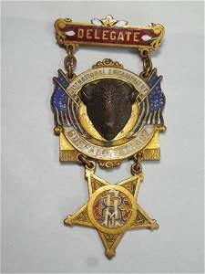 Ext. Rare and Fine GAR Civil War Buffalo Medal