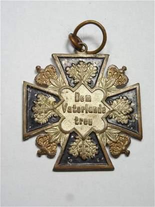 Unusual Imperial German Patriotic Medal or Badge