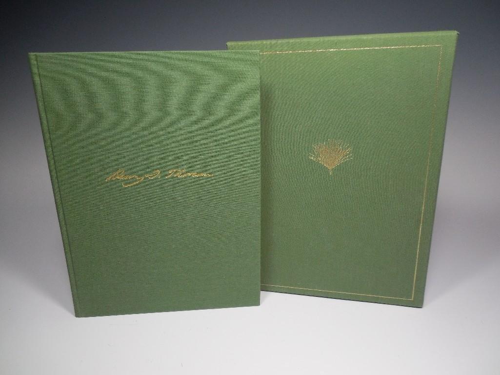 Ltd Ed Faith in a Seed Thoreau Book in Sleeve