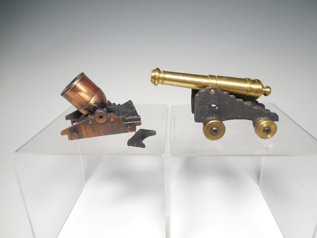 2 Vintage Toy Cannons