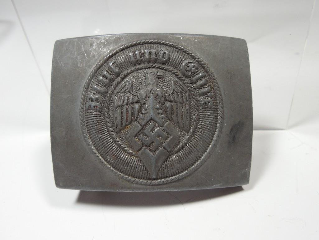German WWII Blood & Honor Hitler Youth Buckle