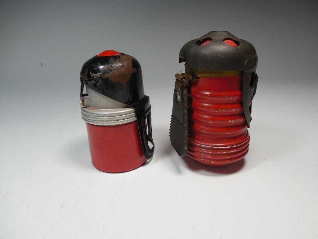2 Original Red Devil Italian WWII Tank Grenades - 10