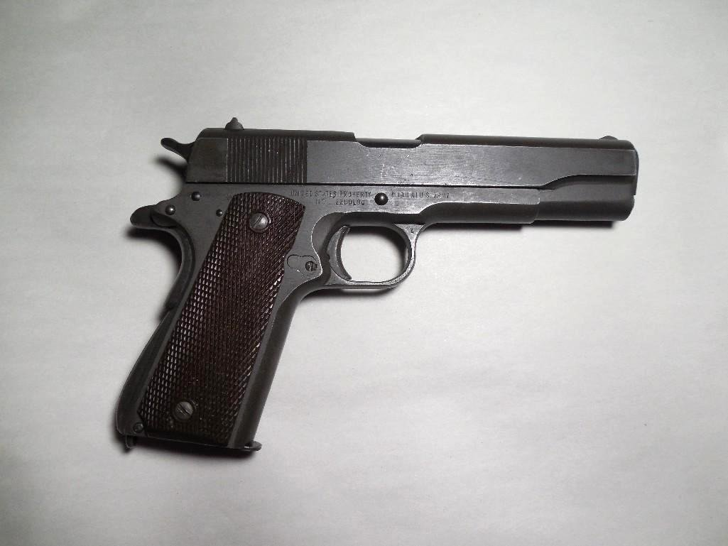 WWII Remington Rand Government Issue M1911 A1 US Army P