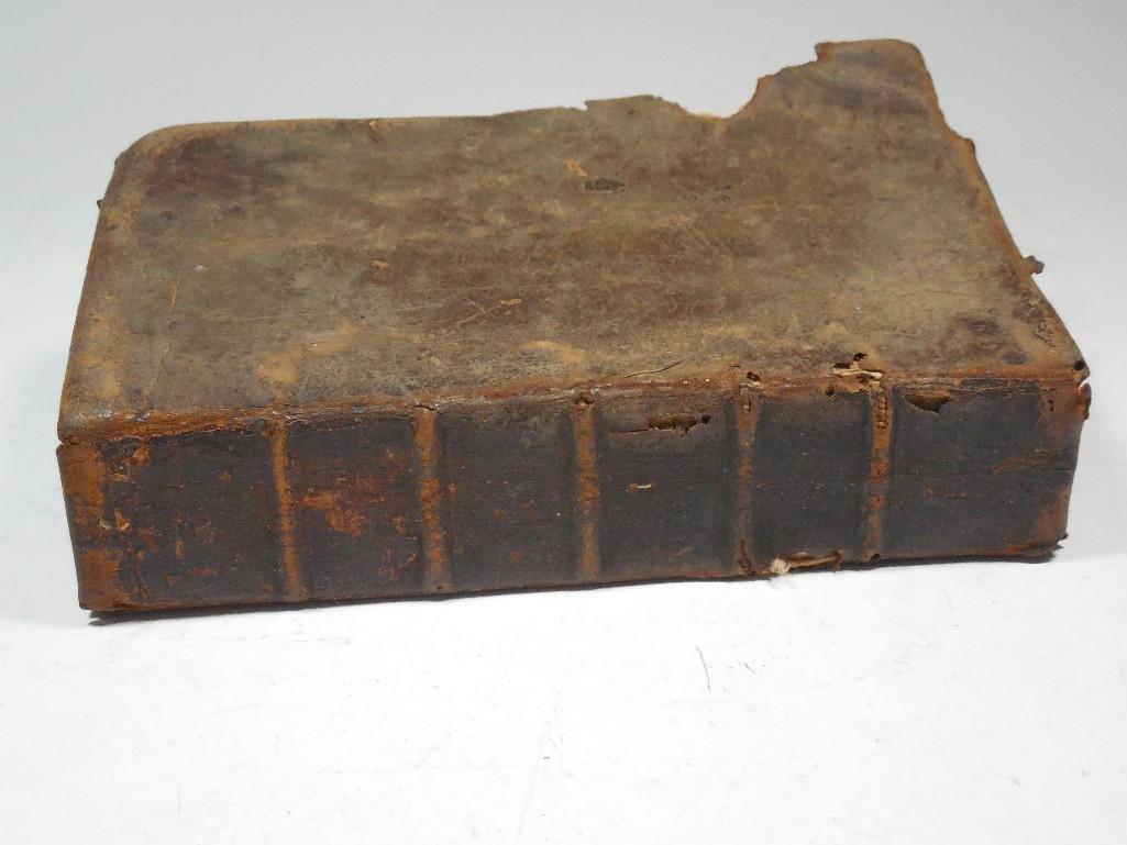 Early American 1757 Sermon Book -Gilbert Tennent - 10