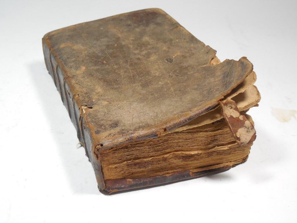 Early American 1757 Sermon Book -Gilbert Tennent - 2