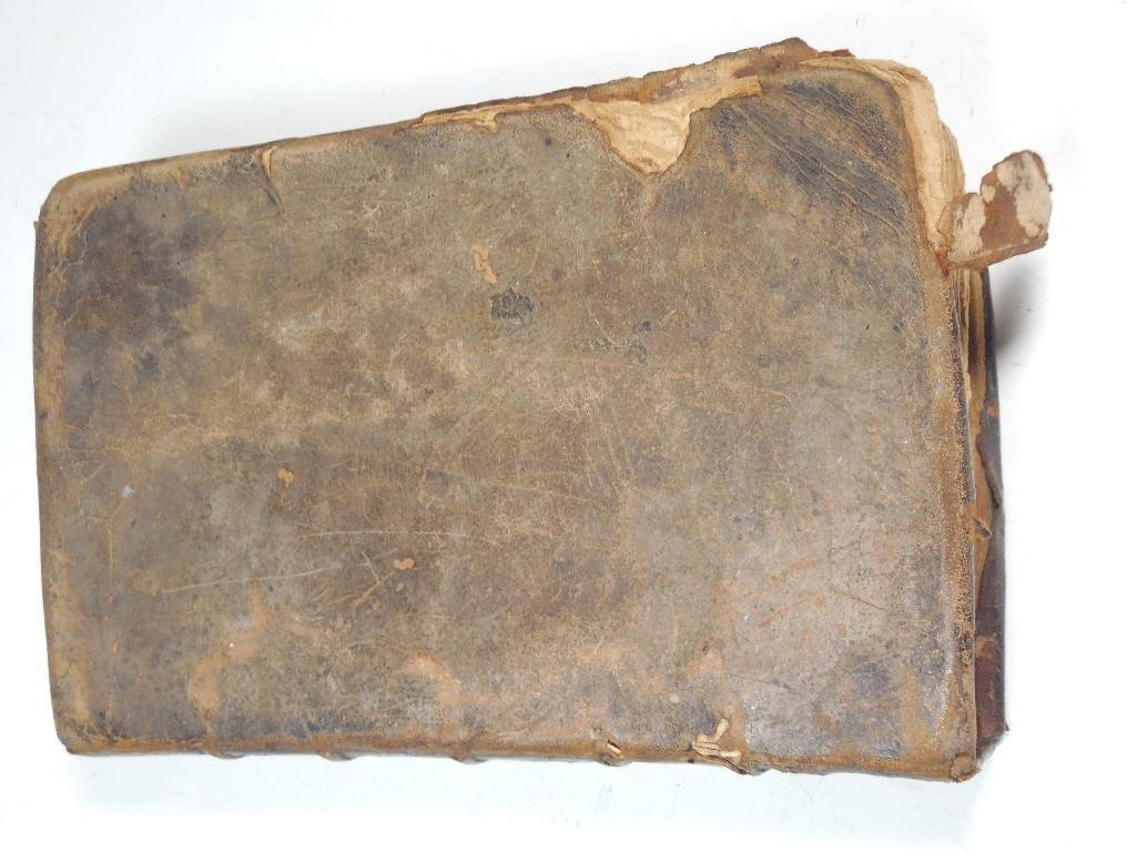 Early American 1757 Sermon Book -Gilbert Tennent - 3