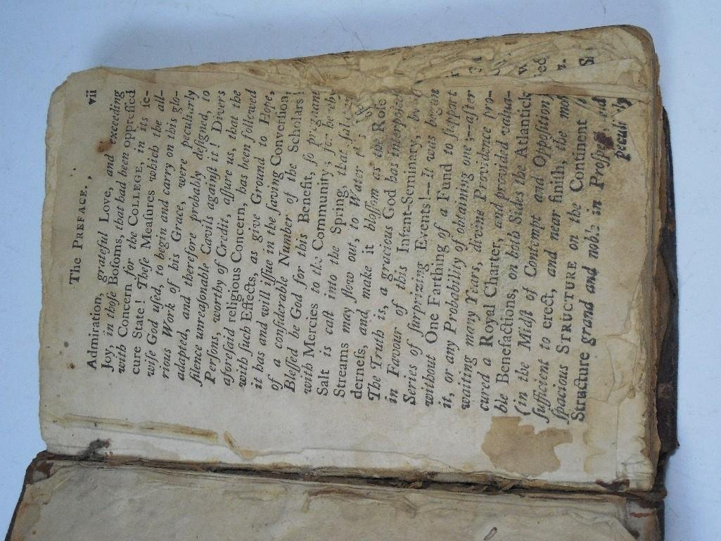 Early American 1757 Sermon Book -Gilbert Tennent - 4