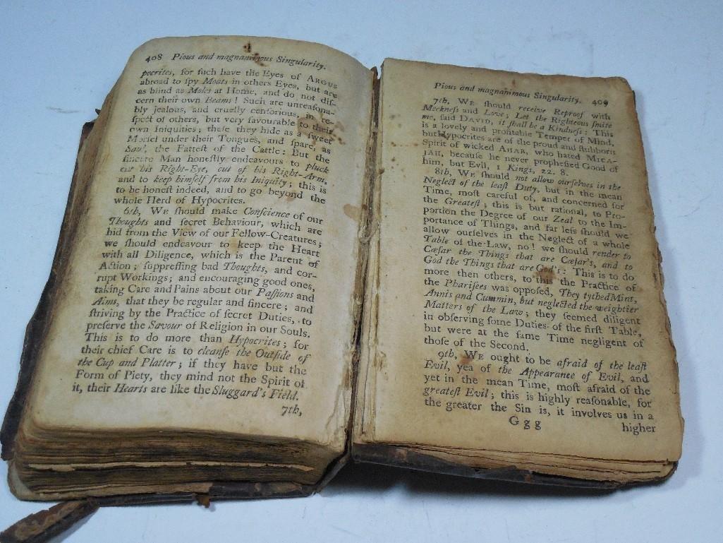 Early American 1757 Sermon Book -Gilbert Tennent - 8