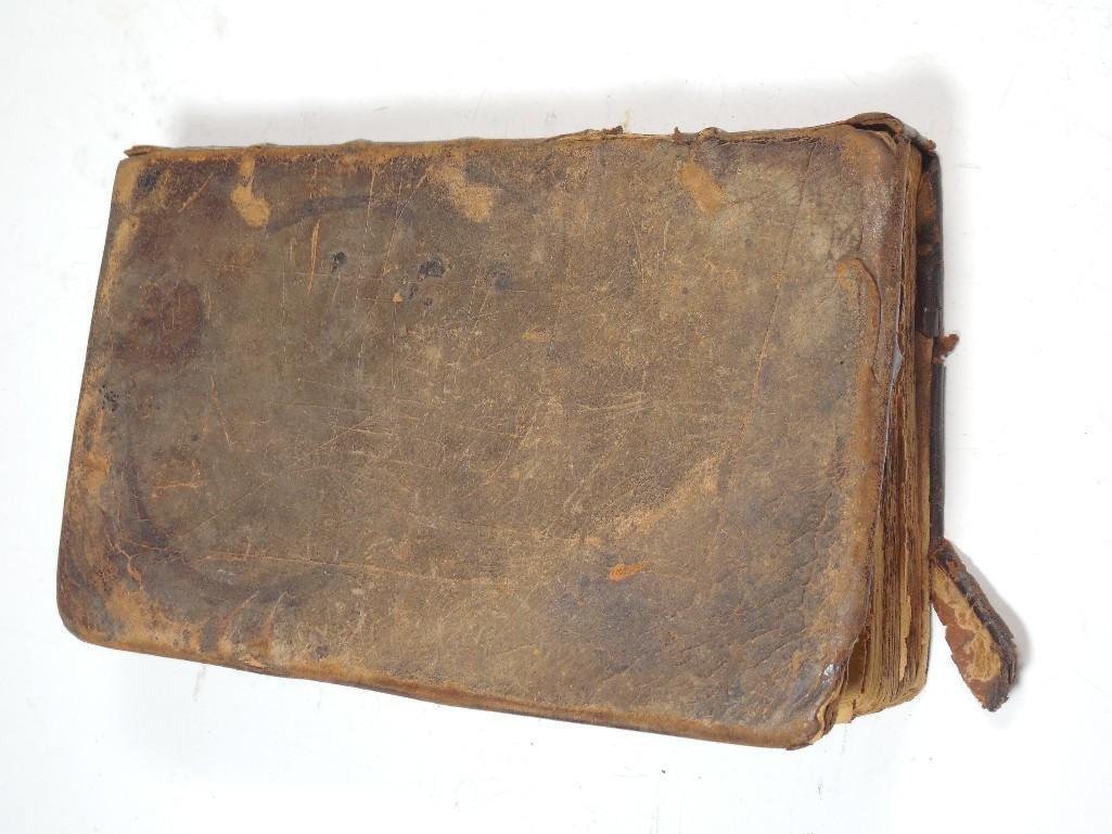 Early American 1757 Sermon Book -Gilbert Tennent - 9
