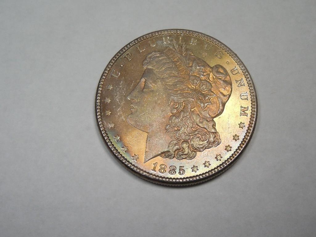 ~MS66 1885 Morgan Dollar Silver Coin