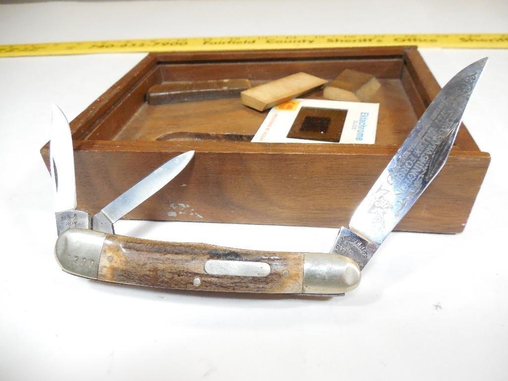 Rare George Washington Valley Forge Folding Knife