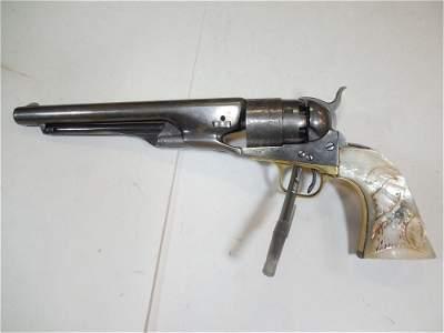 Fine Colt 1860 Army Revolver w/Crisp Details Matching #