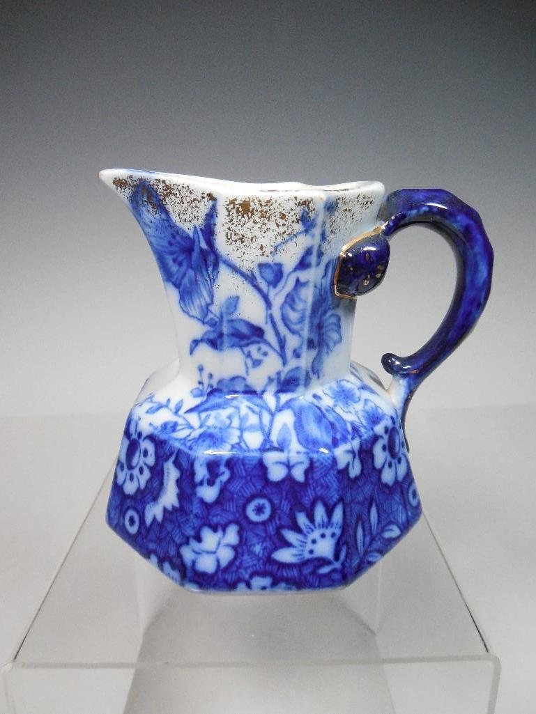 Keeling Alton Pattern Flow Blue Pitcher
