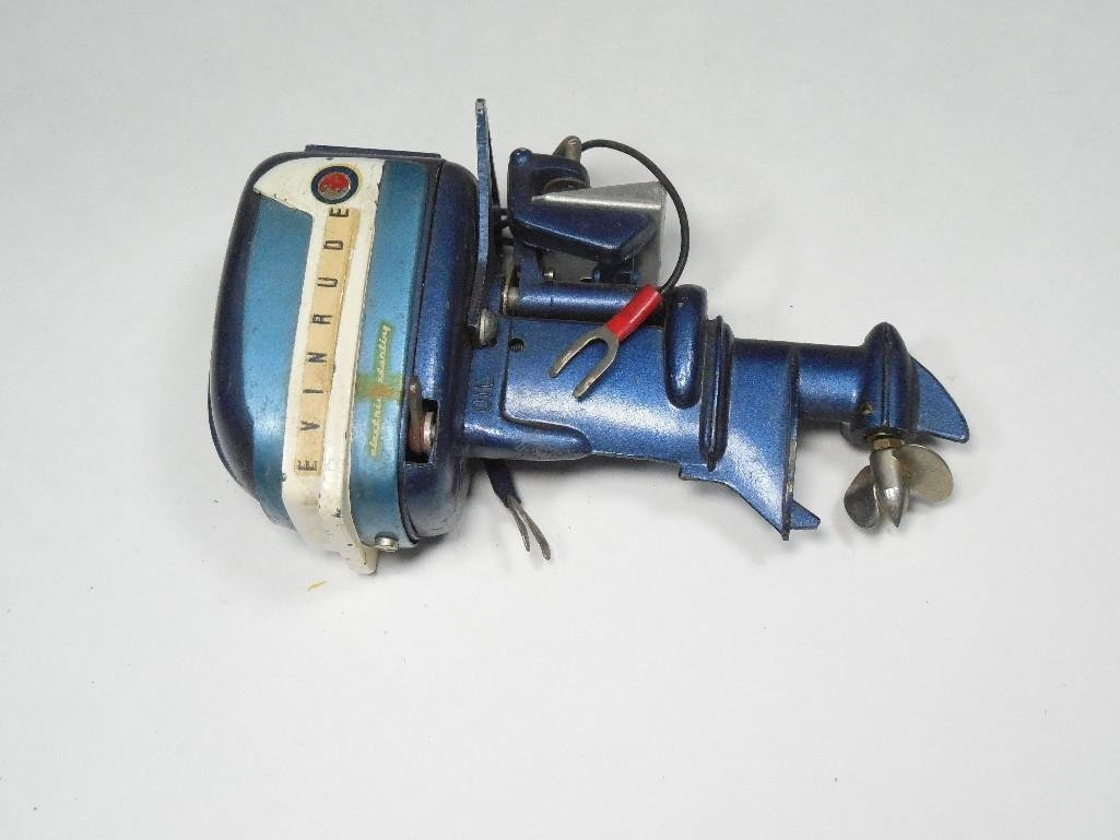 Vintage Evinrude Made in Japan Toy Boat Motor