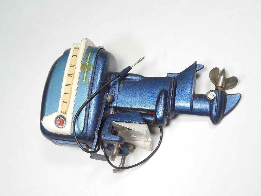 Vintage Evinrude Made in Japan Toy Boat Motor - 2